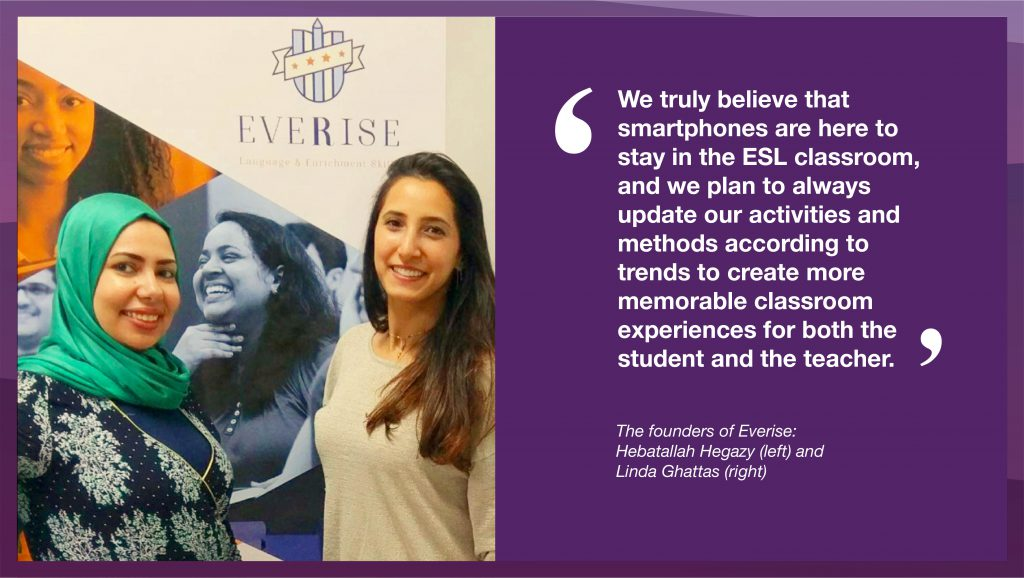 Interview with Everise: ELT in Egypt, and using Snapchat in the classroom
