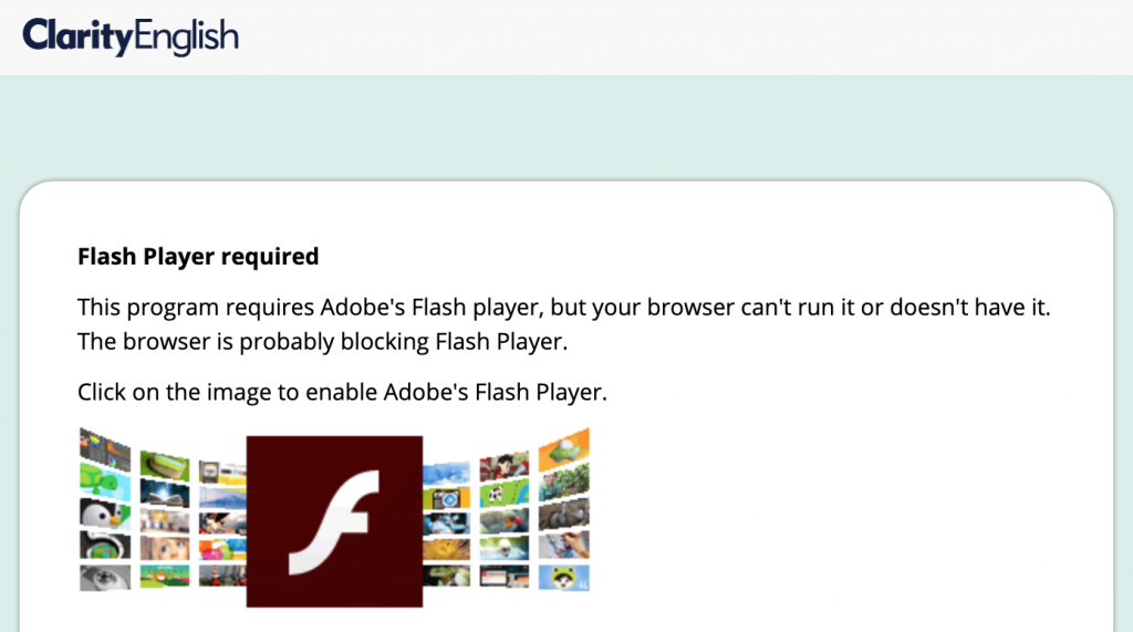 Status of Flash