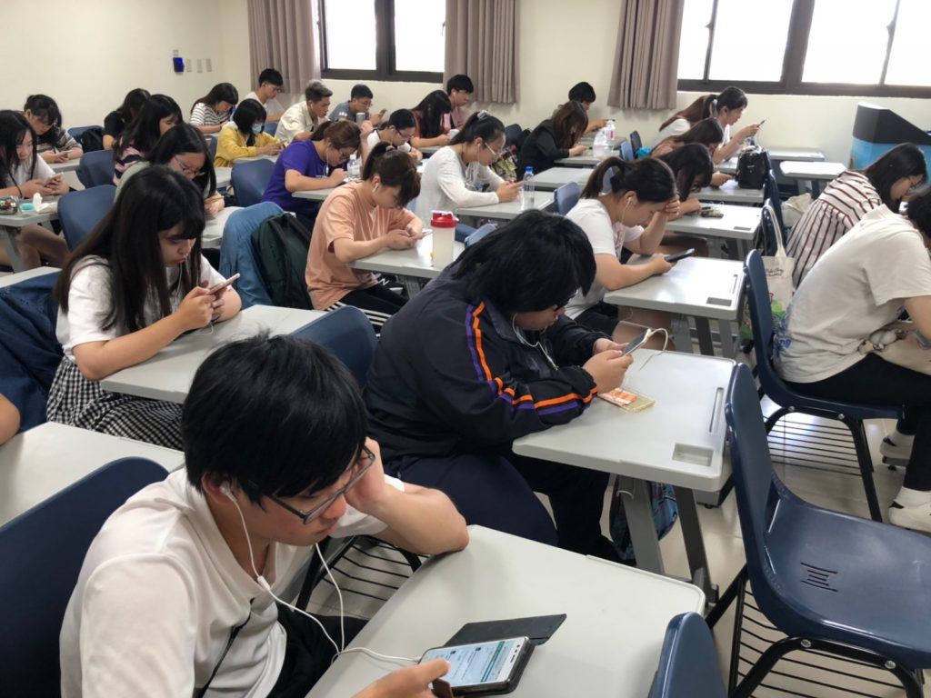 Experiment to trial Dynamic Placement Test at Wenzao University